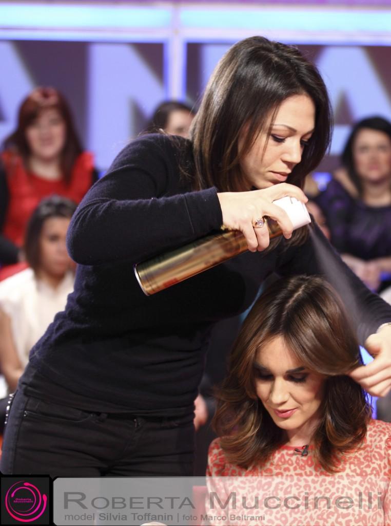 Silvia toffanin taglio capelli 2014